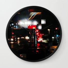 CALZADA DE NOCHE Wall Clock