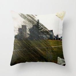 Tape&Scratch Throw Pillow