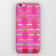 Pink Pineapples iPhone & iPod Skin
