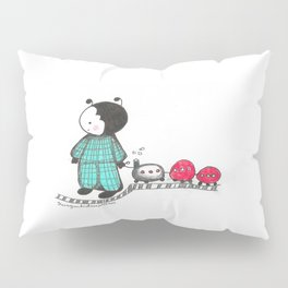 Ant in pajamas Pillow Sham