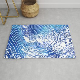 Blue Wave II Rug