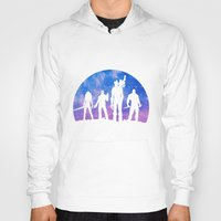 guardians of the galaxy Hoodies featuring Guardians of the Galaxy - Color by Comix