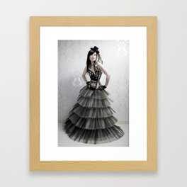 haute couture 2 Framed Art Print