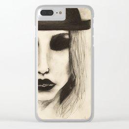 kesha Clear iPhone Case