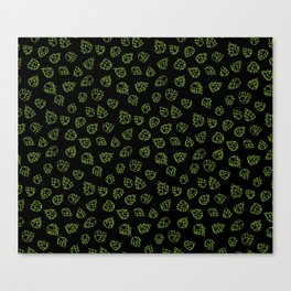 Hopcone Pattern Canvas Print