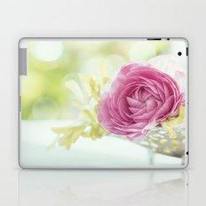 Princess like - Lightpink flower sparkling in silver bowl Still-life on #Society6 Laptop & iPad Skin