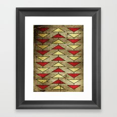 Navajo Arrows Framed Art Print
