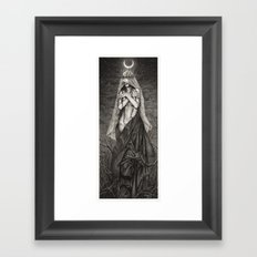 Midnight Queen Framed Art Print