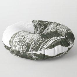 Abrupt Floor Pillow