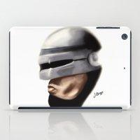 robocop iPad Cases featuring Robocop. by Jamie Briggs