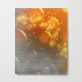 """Bubble Fantasy"" Metal Print"