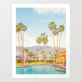 Poolside in Palm Springs - Travel Photography Art Print