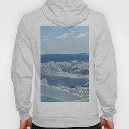 Pressure Ridges of Ice Lake Hoody