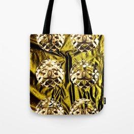 gold vintage earrings coco Tote Bag