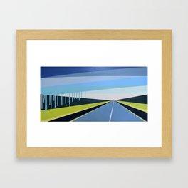 Highwayscape #16 Framed Art Print