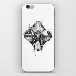Decaying Ghost Shell iPhone Skin
