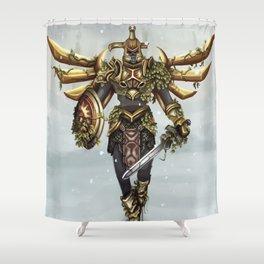 Hero's Shade Shower Curtain