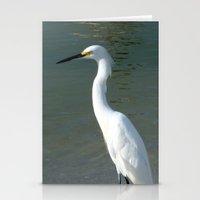 crane Stationery Cards featuring Crane by Rachel Garrity