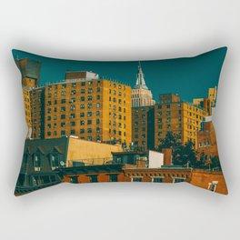 New York City Apartments (Color) Rectangular Pillow