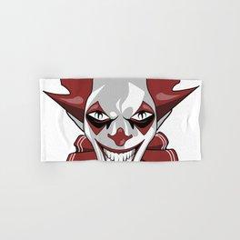 Clown Wicked Common Came creepy horror gift Hand & Bath Towel