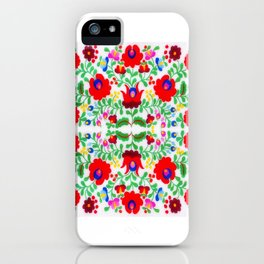 Hungarian Kalocsa 1 iPhone Case