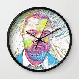 Leonardo Dicaprio (Creative Illustration Art) Wall Clock