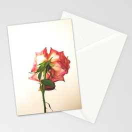 Post-rose Stationery Cards