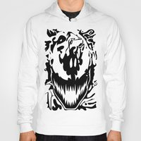 carnage Hoodies featuring carnage by Rebecca McGoran