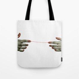 hands II Tote Bag