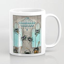 Waltz Dancing Spidervampire Coffee Mug