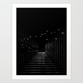 Optical Liberty Art Print