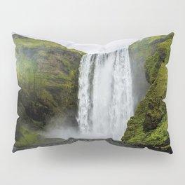 Skogafoss Waterfall Iceland Pillow Sham