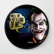 Get a Load of Me Wall Clock