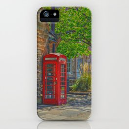 Durham Cathedral, church green area iPhone Case