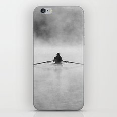 Rowing On The Chattahoochee iPhone & iPod Skin