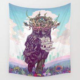 Journeying Spirit (Owl) Wall Tapestry
