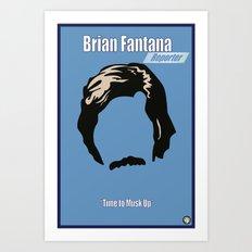 Brian Fantana: Reporter Art Print