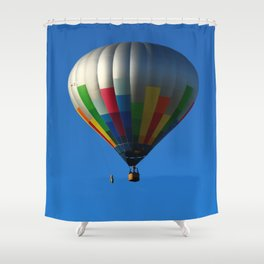 Up Up In The Air Shower Curtain