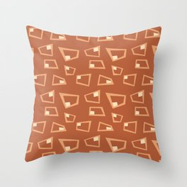 Vintage Abstract Pattern 1 Throw Pillow