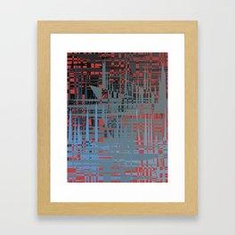 Tiger Patch Framed Art Print