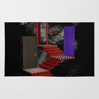 nightmare Area & Throw Rugs featuring nightmare by Ancello