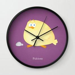 Pulcione, Chicken Puppy Wall Clock
