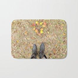 Harvest Heart Bath Mat