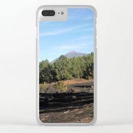 el Teide - Tenerifa Clear iPhone Case