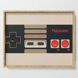 Retro Gamepad Serving Tray