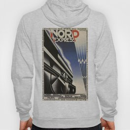 Vintage poster - Nord Express Hoody