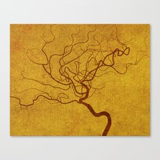 Cerebral in Sand Canvas Print