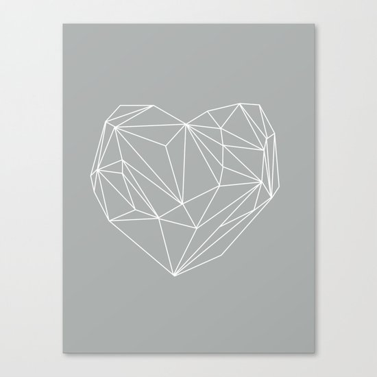 Heart Graphic 6 Canvas Print