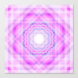 11 E=BlurryPink Canvas Print