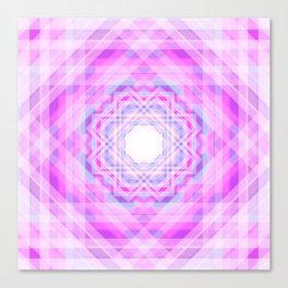 11 E=BlurryPink Canvas Print